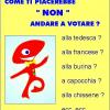 Il piacere del non voto