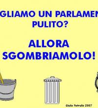 Per un Parlamento pulito