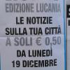 Torna il Roma in edicola con le Cronche Lucane