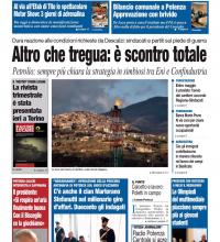 Vieni a calcetto? Non ho tempo. Fregati! Editoriale del Roma Cronache Lucane del 31 marzo 2016