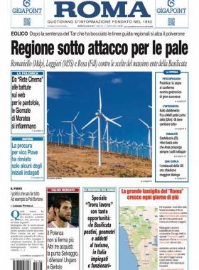 Poli Bortone, l'assessore venuto dalla Puglia, editoriale del Roma Cronache Lucane