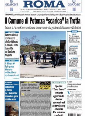 Mafiopoli, editoriale del Roma Cronache Lucane