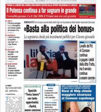 L'ignaro governatore, editoriale del Roma Basilicata